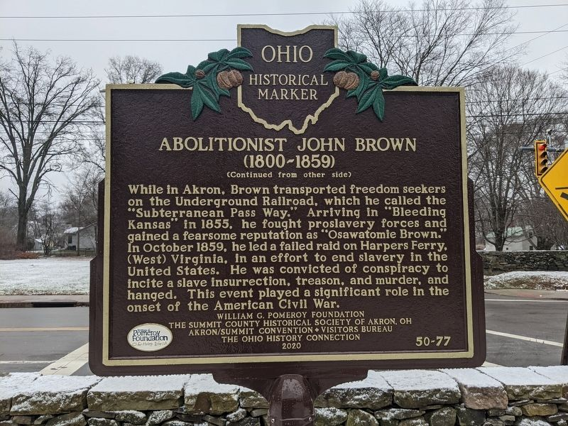Abolitionist John Brown Marker image. Click for full size.