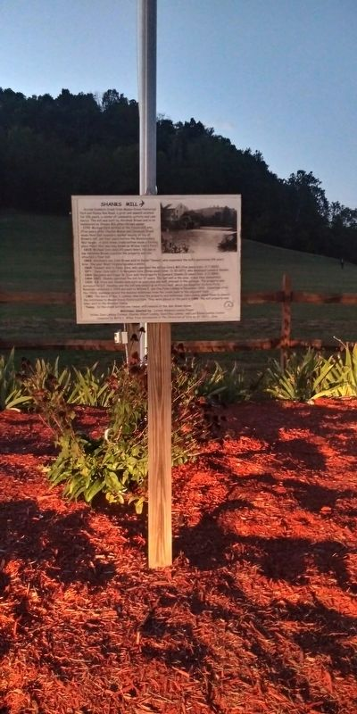 Shanks Mill Marker image. Click for full size.