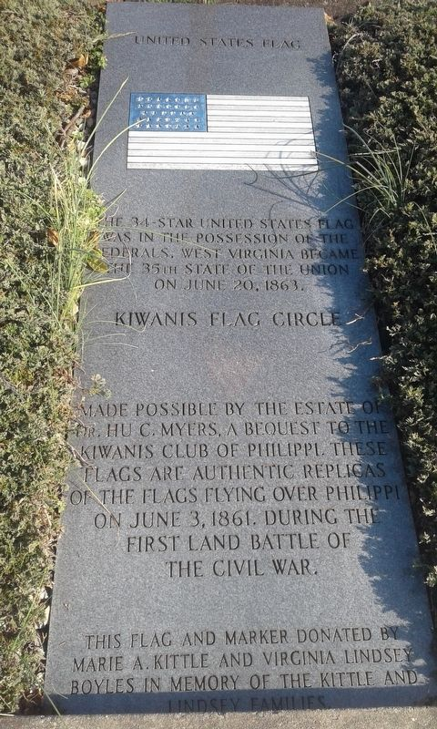 United States Flag Marker image. Click for full size.