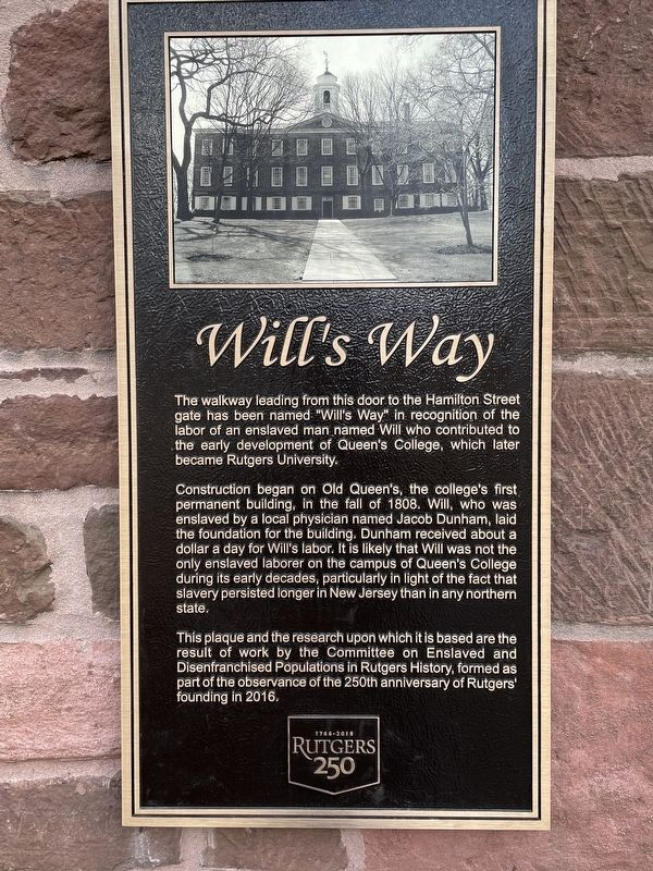 Will's Way Marker image. Click for full size.