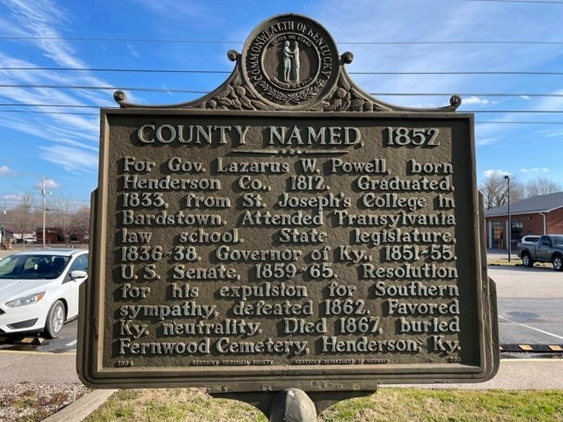 County Named, 1852 Marker image. Click for full size.