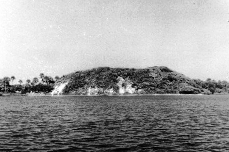 Turtle Mound, circa 1915 image. Click for full size.