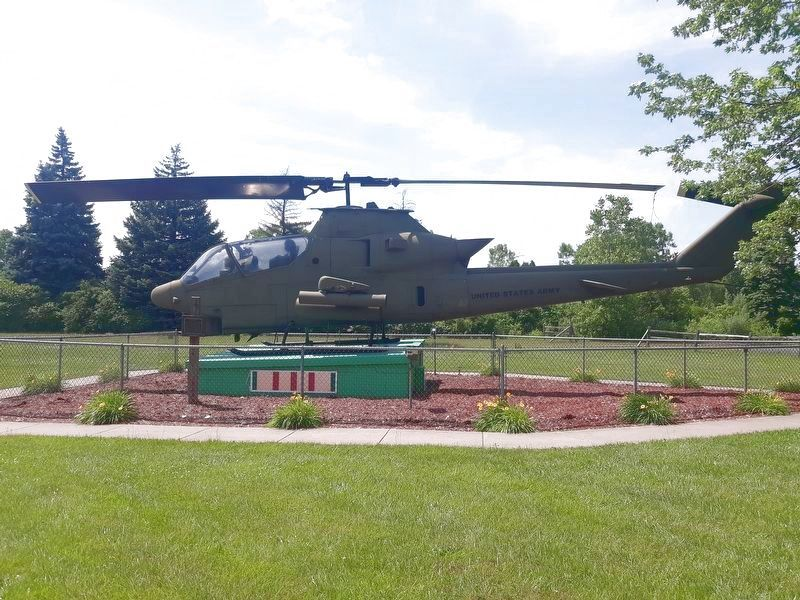 AH-1Huey Cobra Helicopter Marker image. Click for full size.