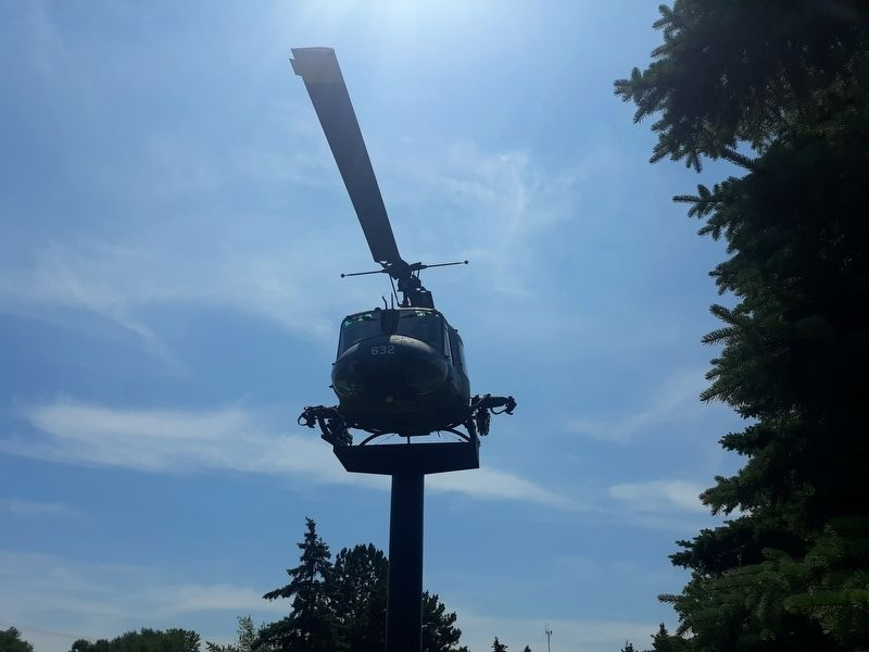 "The ""Huey"" Helicopter Marker image. Click for full size."
