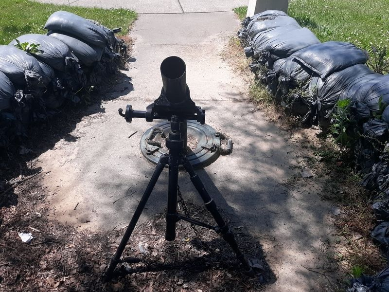 M29 81mm Mortar Marker image. Click for full size.