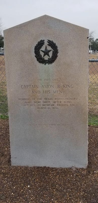 Captain Amon B. King and His Men Marker image. Click for full size.