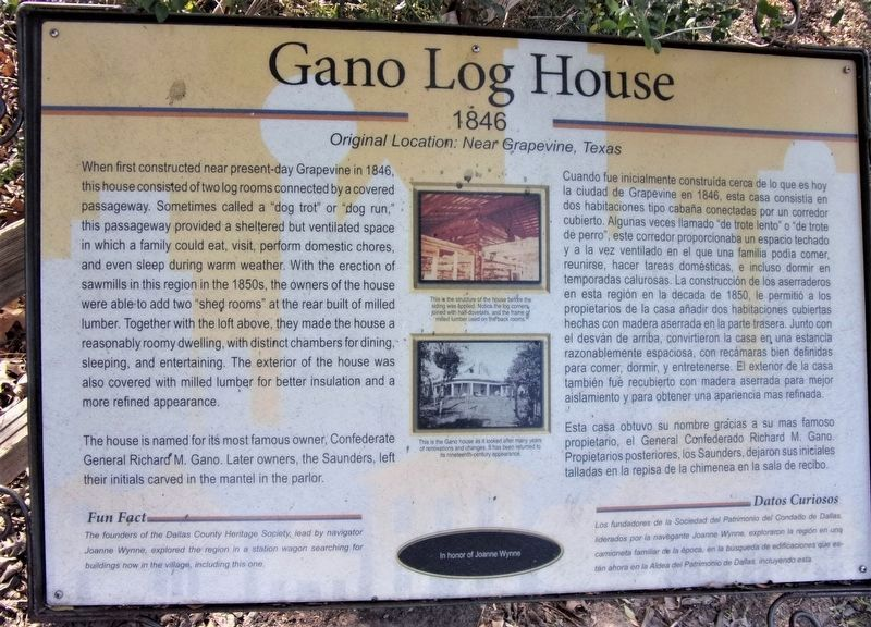 Additional General Richard M. Gano House Marker image. Click for full size.