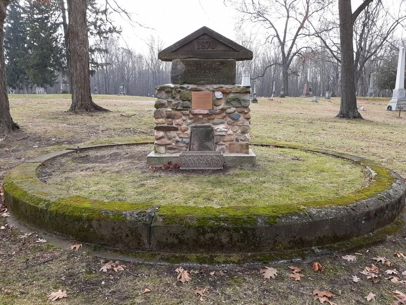 The Oak Grove Cemetery Association Marker image. Click for full size.