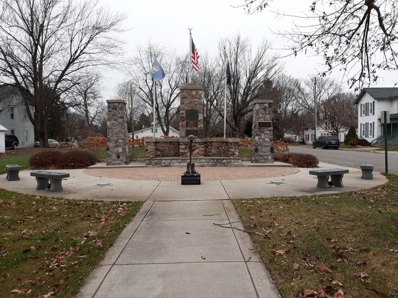 Clinton Ventrens Memorial image. Click for full size.