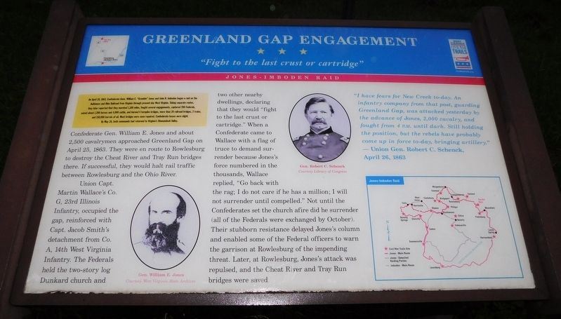 Greenland Gap Engagement Marker image. Click for full size.
