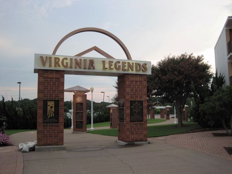 Virginia Legends Walk image. Click for full size.