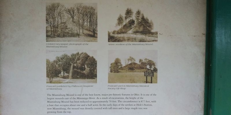 Miamisburg Mound State Memorial image. Click for full size.