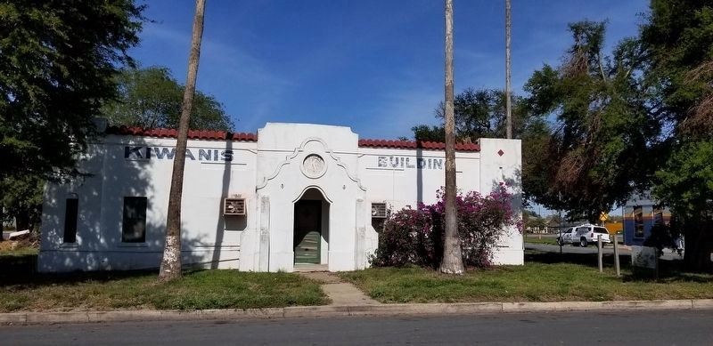 The Old Kiwanis Club building of Pharr image. Click for full size.