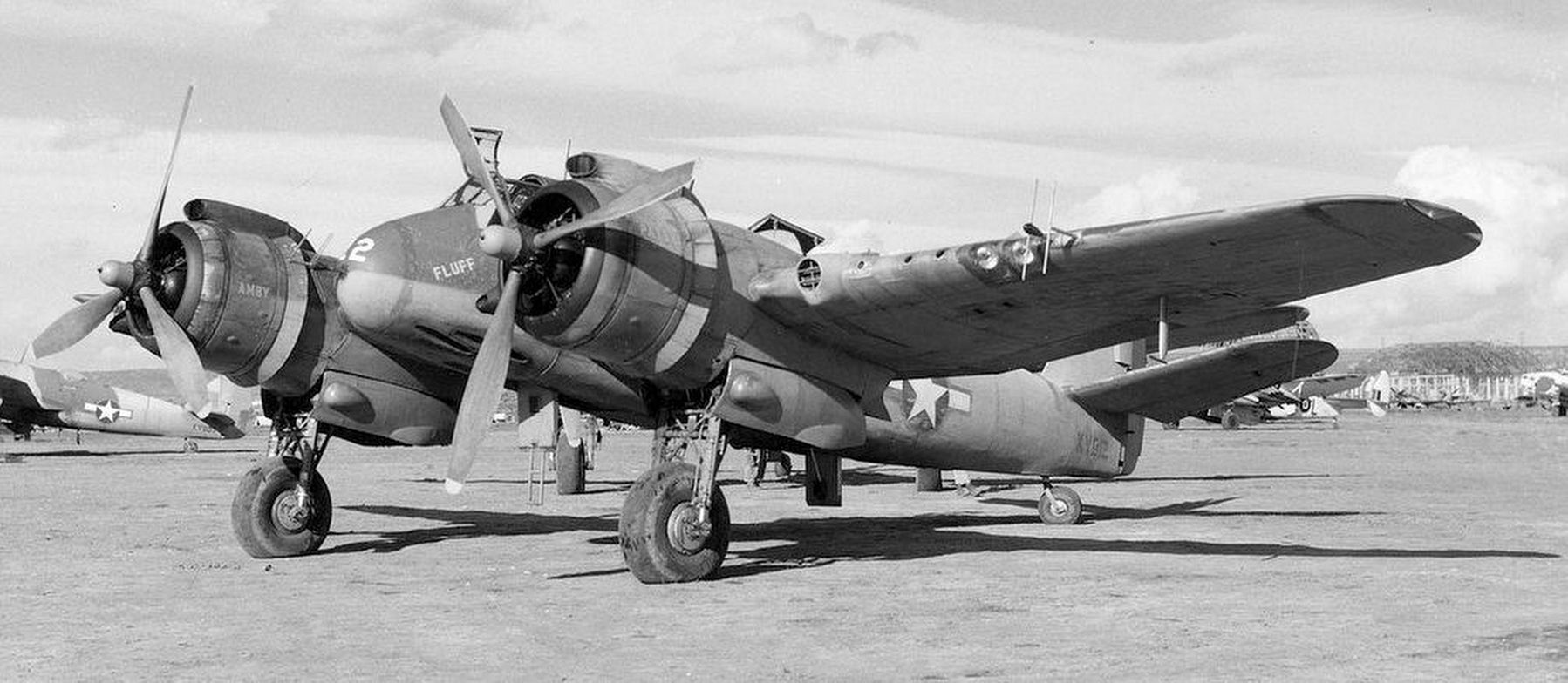 Beaufighter Mk.VIF of the 415th Night Fighter Squadron image. Click for full size.