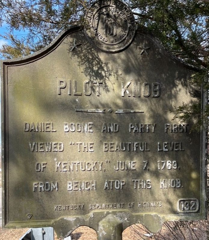 Pilot Knob Marker image. Click for full size.