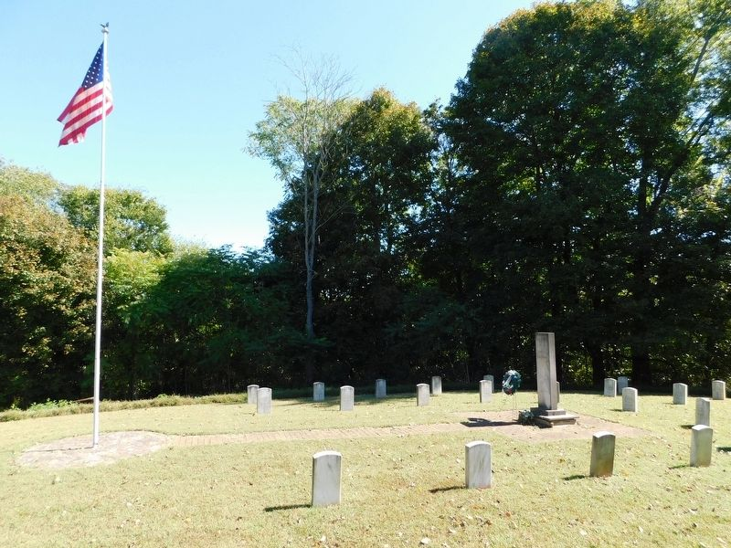 Fort Duffield Memorial Cemetery image. Click for full size.