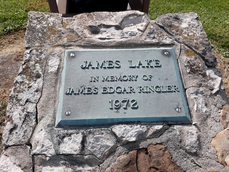 James Lake Marker image. Click for full size.