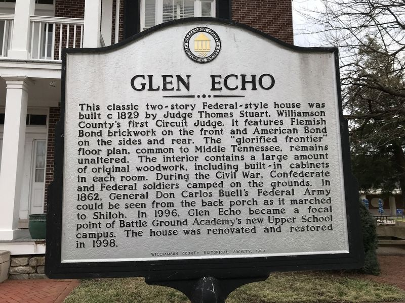 Glen Echo Marker image. Click for full size.