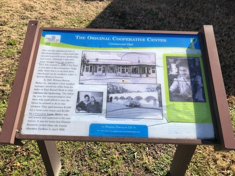 The Original Cooperative Center Marker image. Click for full size.