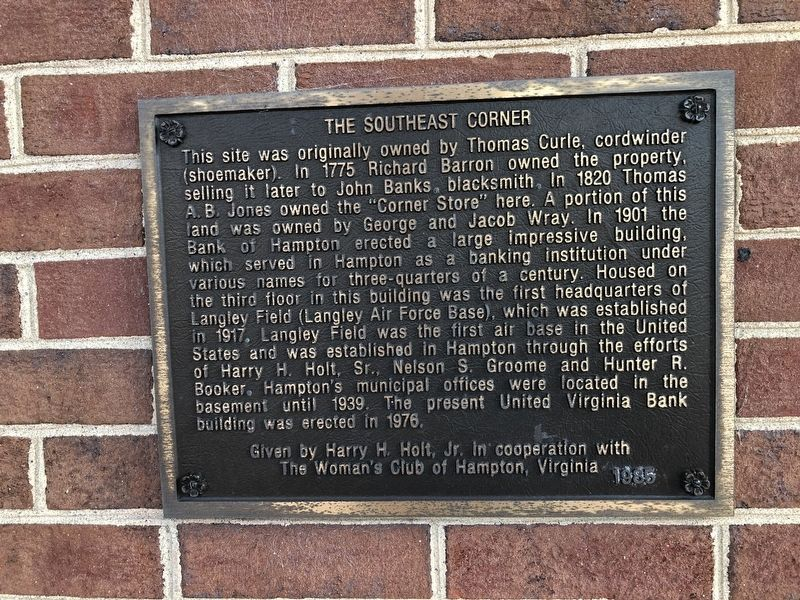 The Southeast Corner Marker image. Click for full size.