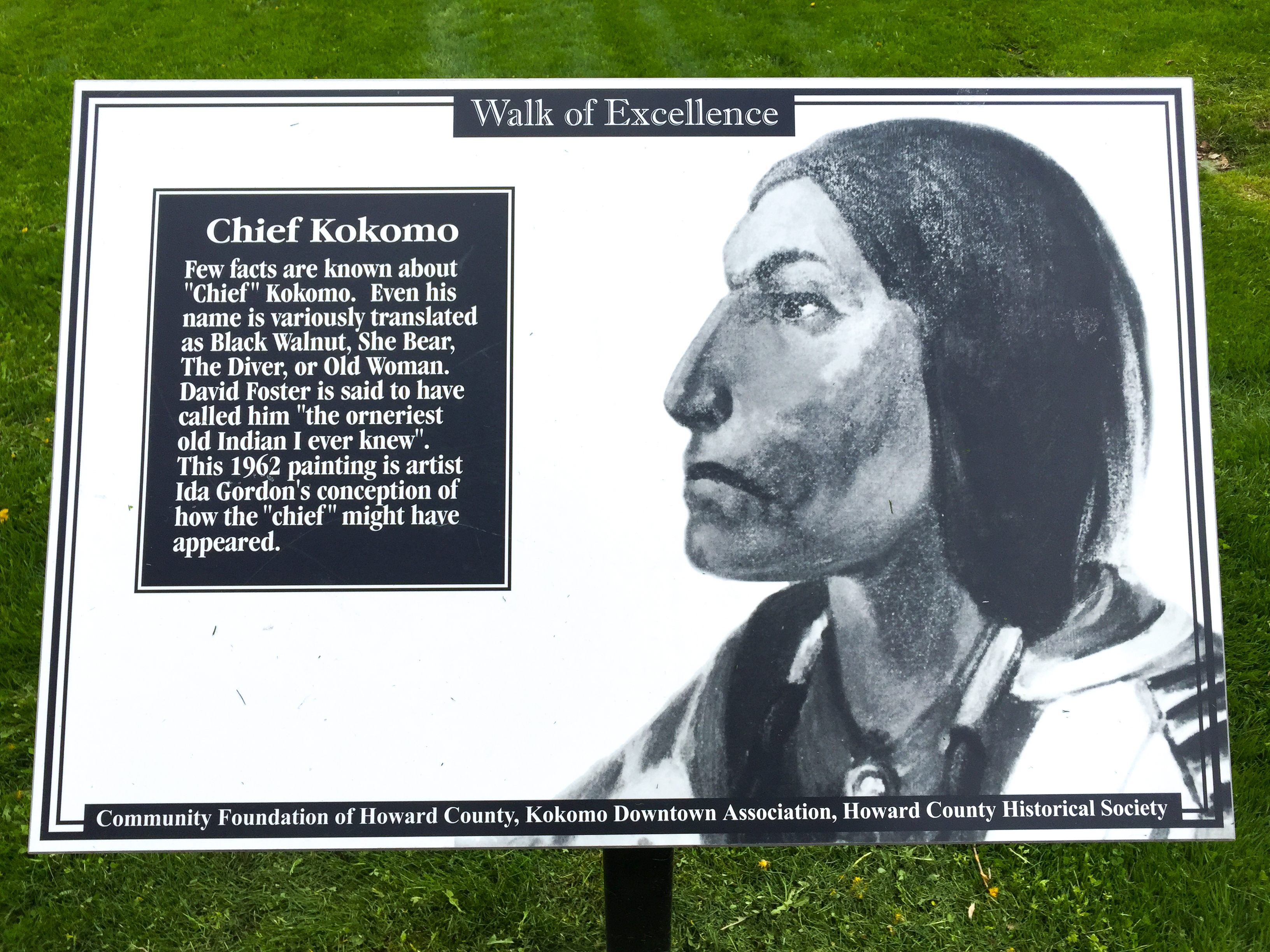 Chief Kokomo Marker