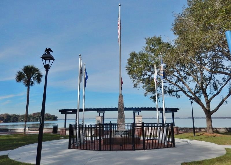 Ferran Park Veterans Memorial Plaza image. Click for full size.
