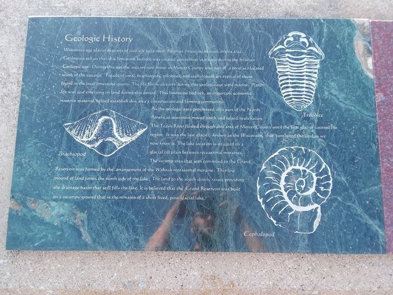 Geologic History Marker image. Click for full size.
