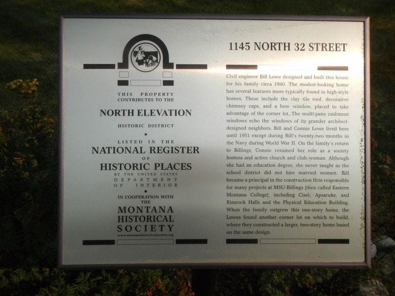 1145 North 32 Street Marker image. Click for full size.