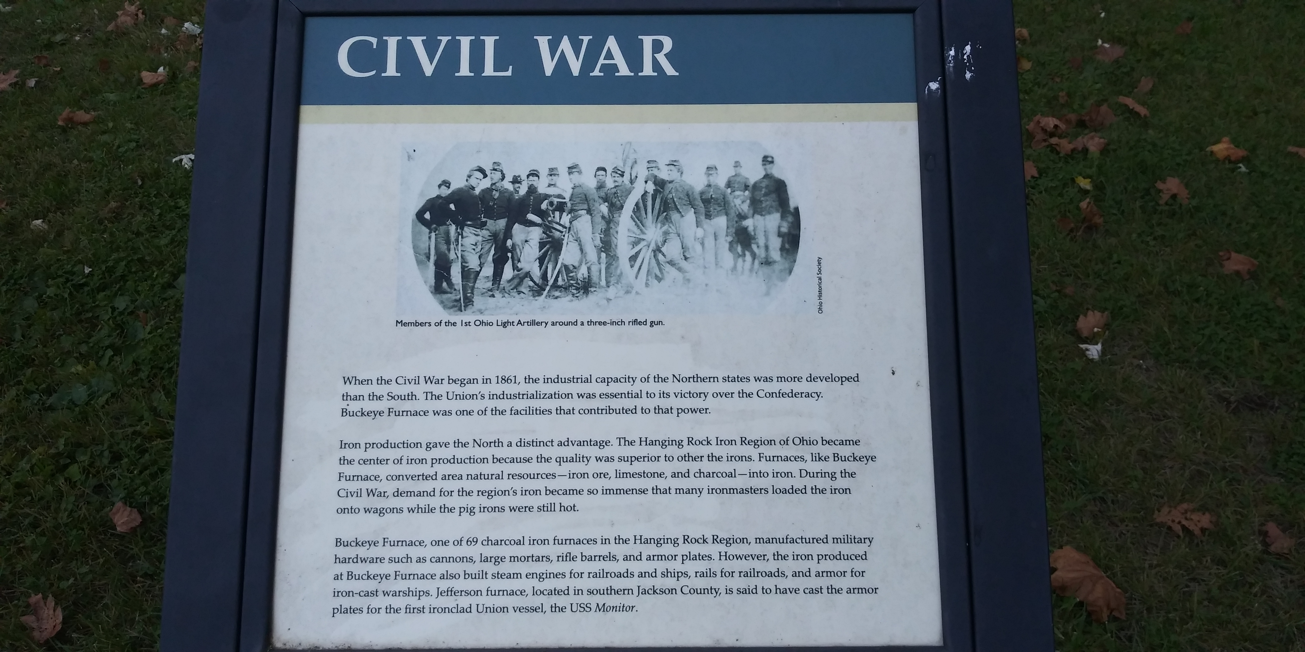 Civil War Marker