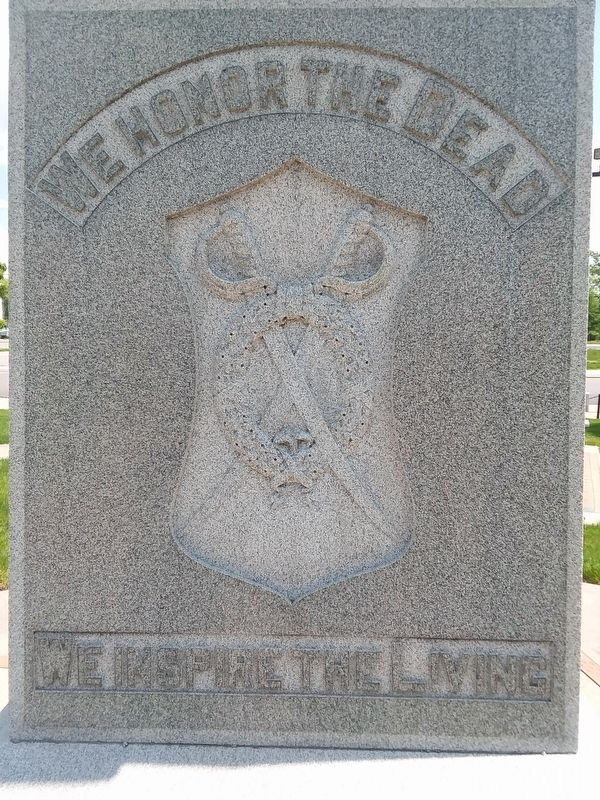 Delphos Civil War Memorial image. Click for full size.