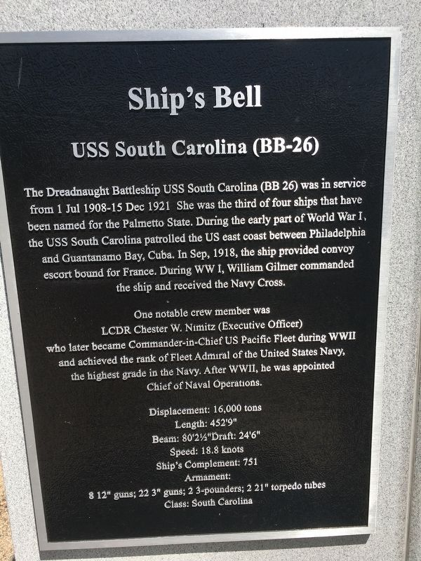 Ship's Bell Marker image. Click for full size.