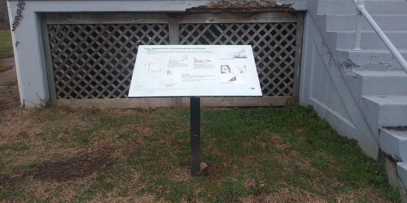 The Assistant Lockmaster's House Marker image. Click for full size.