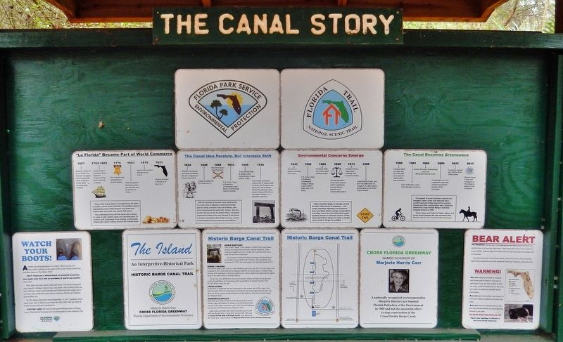 The Canal Story Marker image. Click for full size.