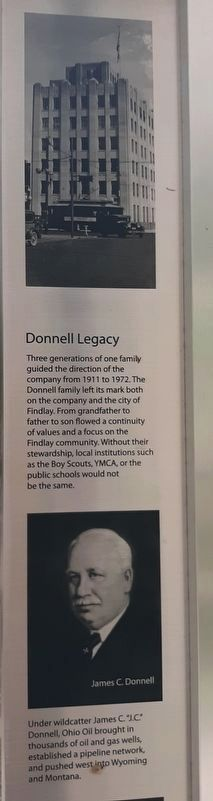 Donnell Legacy Marker image. Click for full size.