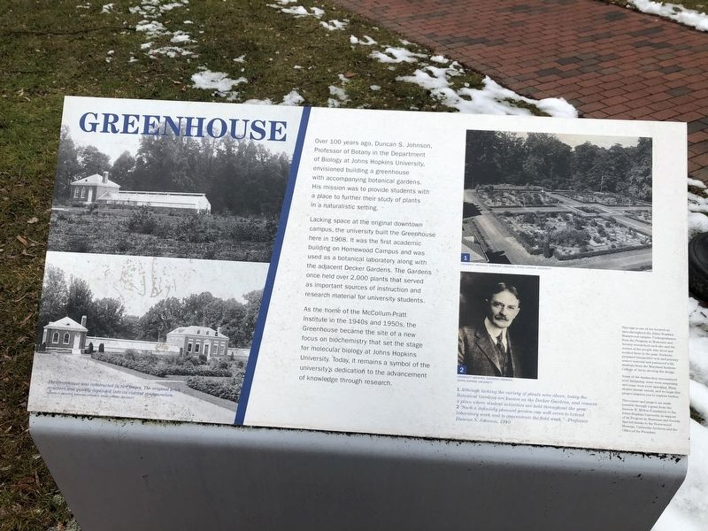 Greenhouse Marker image. Click for full size.