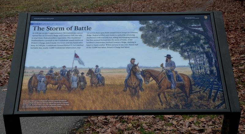 The Storm of Battle Marker image. Click for full size.