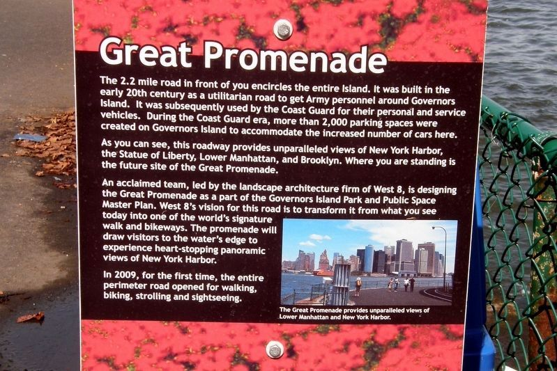 Great Promenade Marker image. Click for full size.
