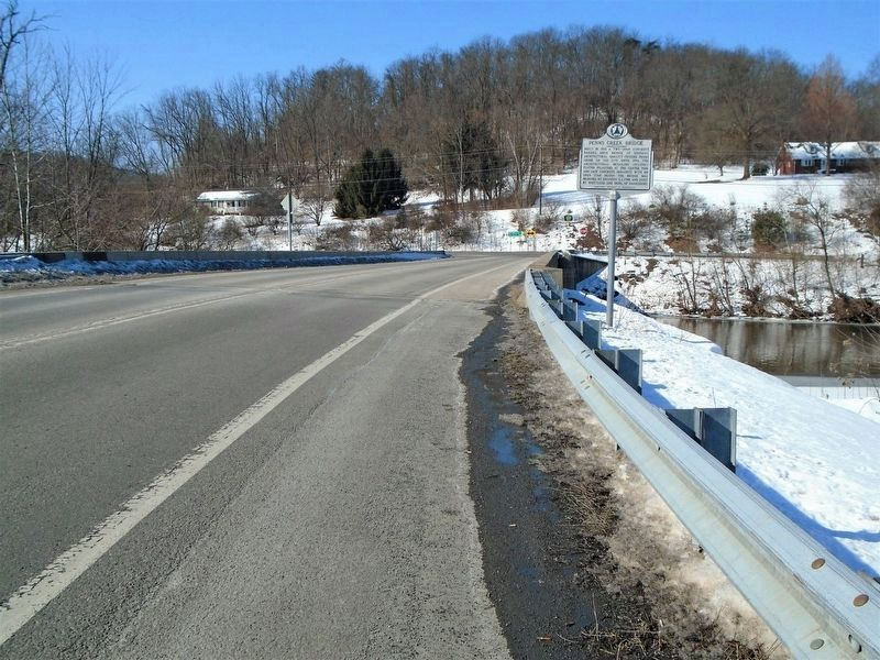 New Penns Creek Bridge and Marker image. Click for full size.
