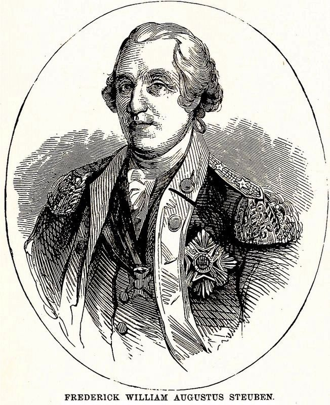 Frederick William Augustus Steuben image. Click for full size.