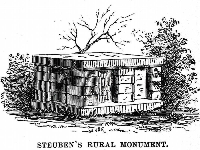 Steuben's Rural Monument image. Click for full size.