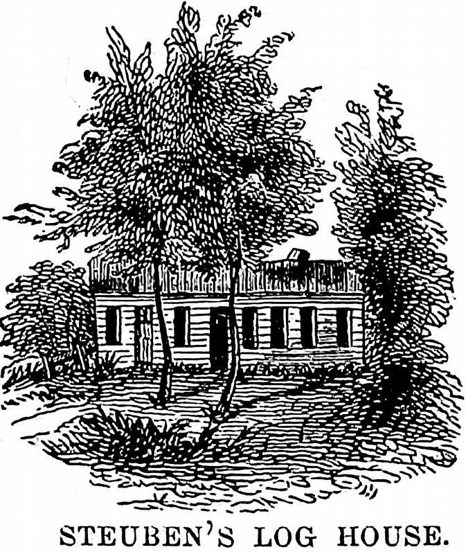 Steuben's Log House image. Click for full size.