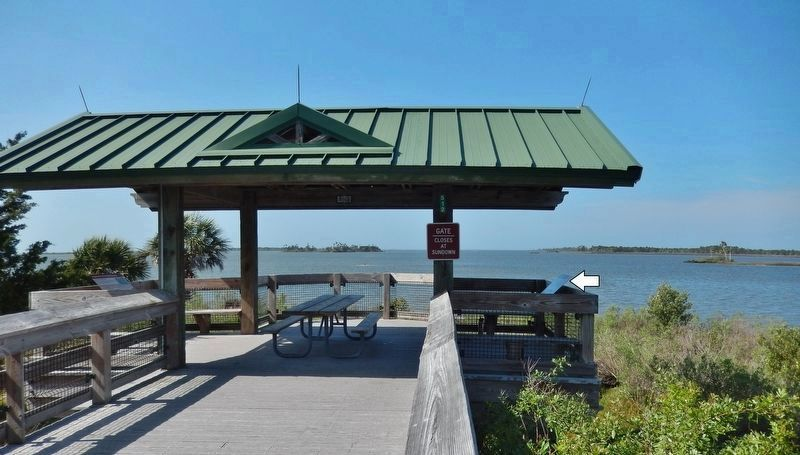 Withlacoochee Bay Trail — West End image. Click for full size.