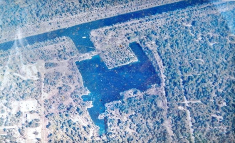 Marker detail: Felburn Park and Phil's Lake image. Click for full size.