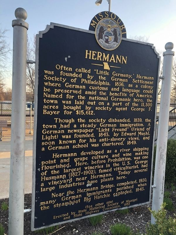 Hermann Marker [Front] image. Click for full size.