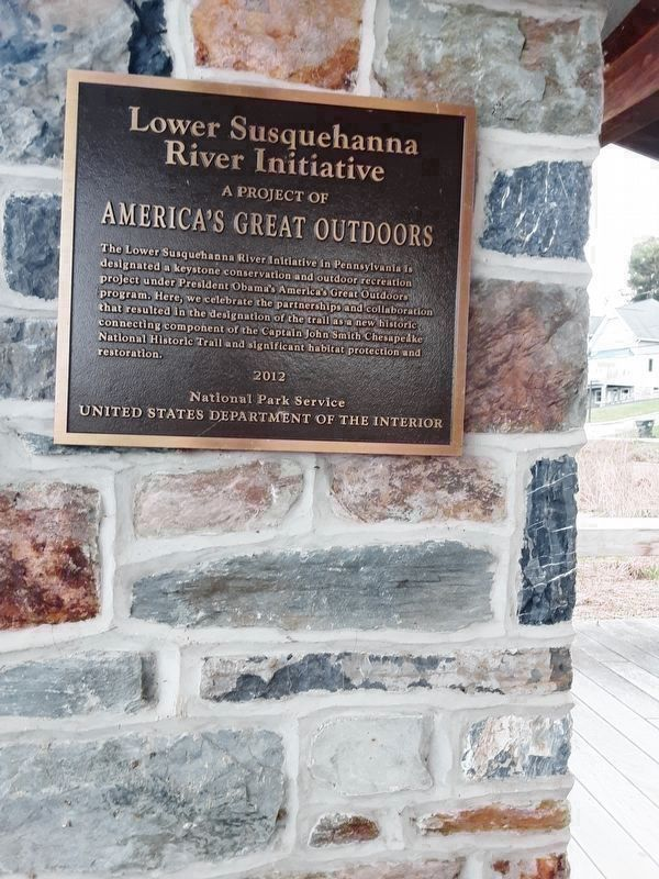 Latrobe's Survey of the Susquehanna Marker image. Click for full size.