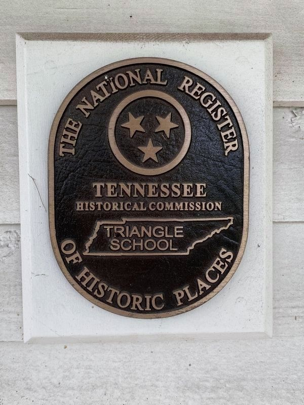 Triangle School Marker image. Click for full size.