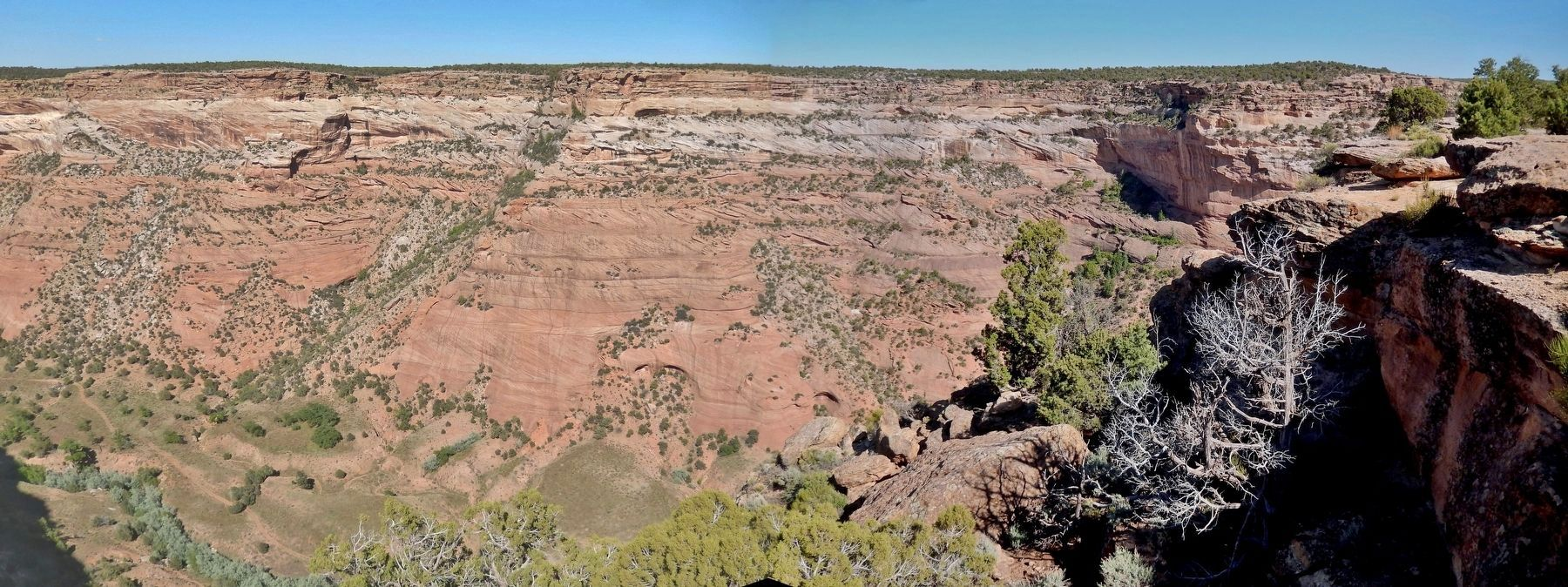 View of Canyon from near Marker image. Click for full size.
