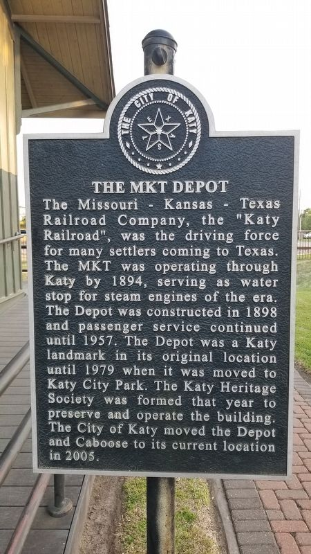 The MKT Depot Marker image. Click for full size.