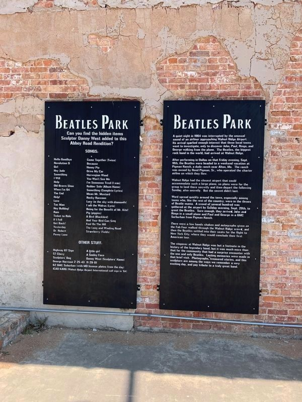 Beatles Park Marker image. Click for full size.