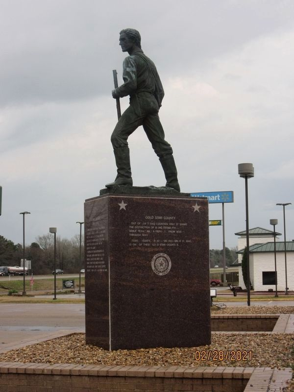 James Bowie / Gold Star County Marker image. Click for full size.